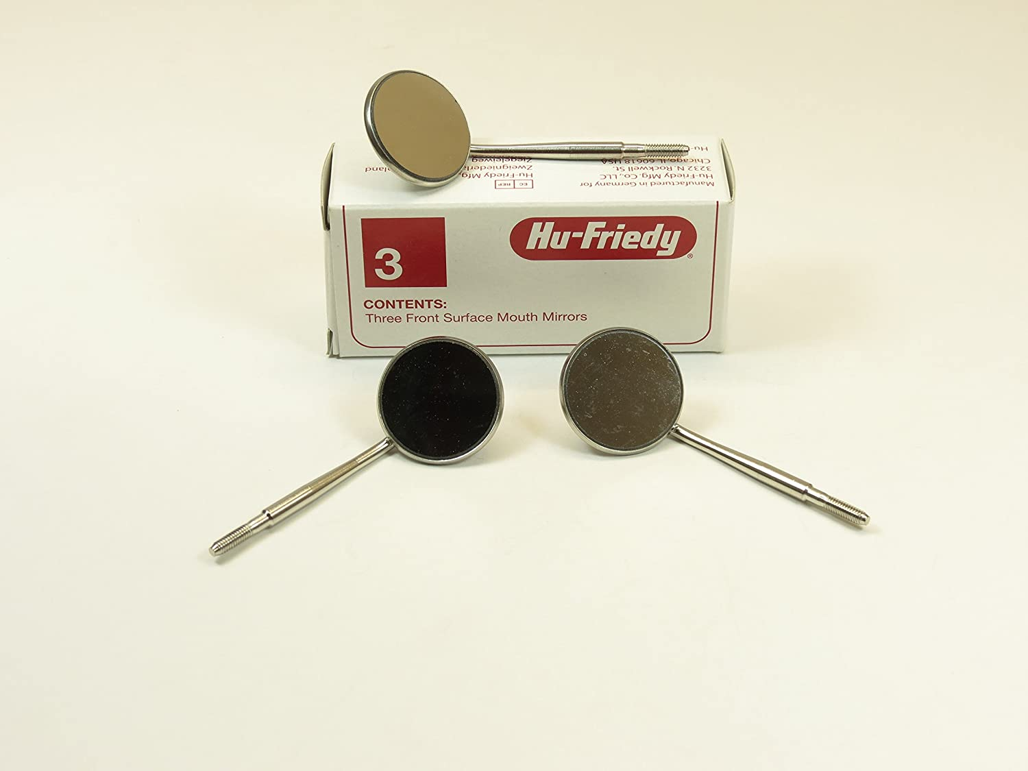 Hu-Friedy MIR5 3 Front Surface of Pack Philadelphia Directly managed store Mall Mirror Mouth