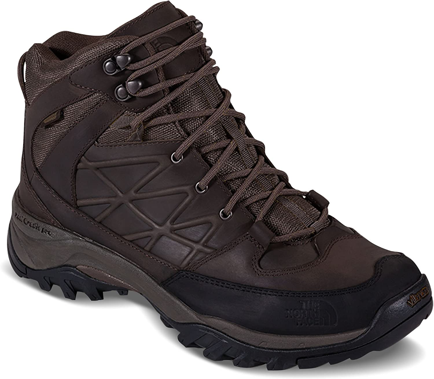 The North Face Storm Mid Wp Leather Mens Lace Up Hiking shoes