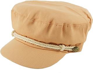bef20649e53 D Y Ladies Summer Cotton Greek Fisherman Sailor Fiddler Driver Hat Flat Cap