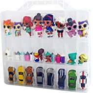 Bins & Things Toys Organizer Storage Case with 48 Compartments Compatible with LOL Surprise...