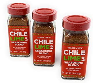 Trader Joe's Chile Lime Seasoning Blend, 2.9 oz (Pack of 3)