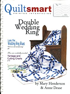 Quiltsmart Printed Interfacing / Double Wedding Ring