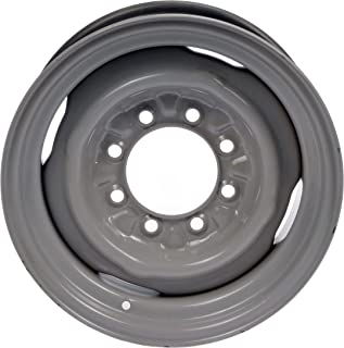 "Dorman 939-198 Steel Wheel for Select Ford Models (16x7""/8x165.1mm), Gray"