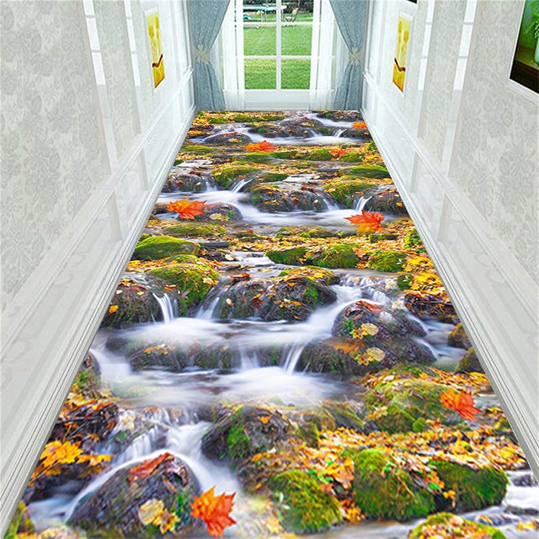 SHENYF-Hua 3D Landscape Corridor Carpet Soft Flannel price Las Vegas Mall Kitchen Bed