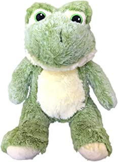 Plush Frog Dog Toy | 7 inches | Durable | Squeaker | for Big Dogs & Puppies | Ideal for Instagram