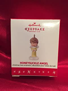 QXC5161 Mary's Angels Honeysuckle Angel 2016 Hallmark Keepsake Club Miniature Ornament