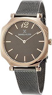 DANIEL KLEIN Premium Alloy Case Mesh Band Ladies Wrist Watch - DK.1.12518-3