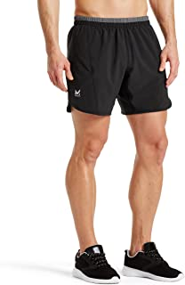Mission Men's VaporActive Momentum 7 Running Shorts, Moonless Night, Large