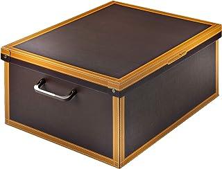 Kanguru Caja en Carton, Cuero, 50x40x25 cm