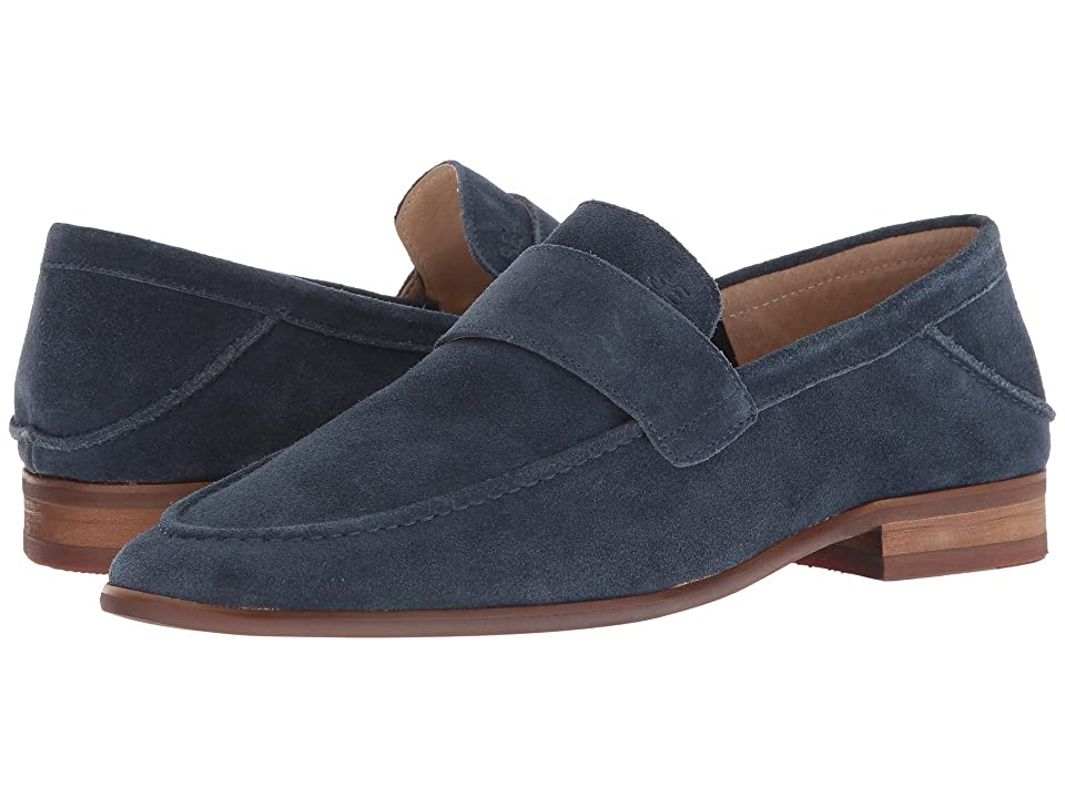 Sam Edelman Ethan (Navy Cow Suede Leather) Men