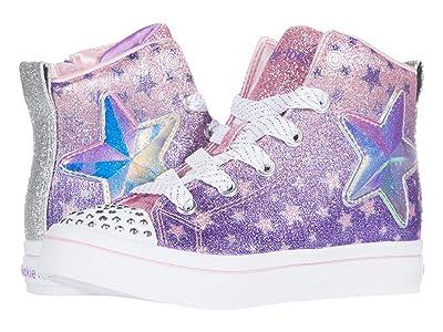 SKECHERS KIDS Twinkle Toes Twi-Lites Starry Gem 314016L (Little Kid) (Lavender/Multi) Girl