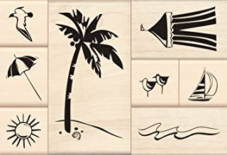 Best palm tree rubber stamp Reviews