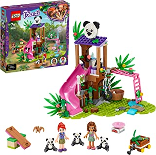 LEGO Friends 41422 Panda Jungle Tree House Building Kit (265 Pieces)
