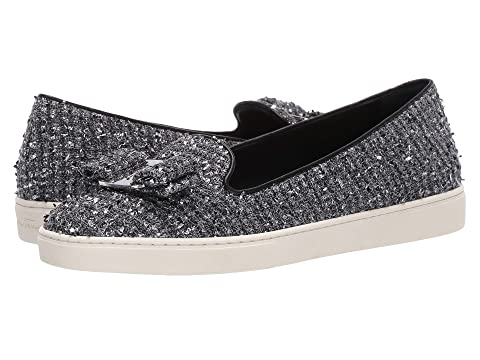 Salvatore Ferragamo Novello Leather Bow Slip-On Sneakers