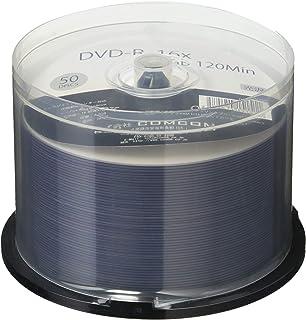 【光沢レーベル】【エンボス加工】べた付かない光沢 DVD-R 50枚 ワイドプリント
