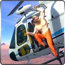 NY Police Heli Prison Escape Survival Simulator Mission Of Jail Criminal: Prisoner Jail Breakout In Heli Adventure Action ...