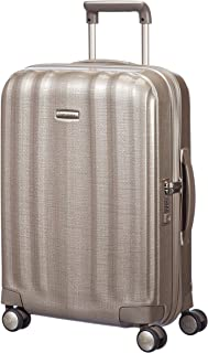 Samsonite 58622 Lite-Cube Spinner Hard Side Cabin Trolley, Ivory Gold, 55 Centimeters