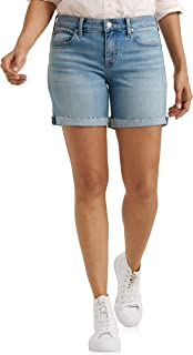 Women's Mid Rise Roll Up Short