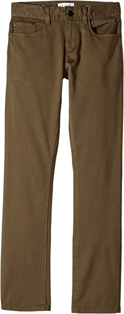 DL1961 Kids - Brady Slim Twill Pants in Squad (Big Kids)