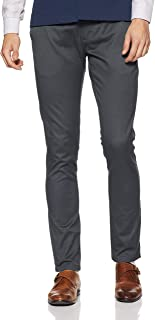 Indigo Nation Men's Relaxed Fit Casual Trousers