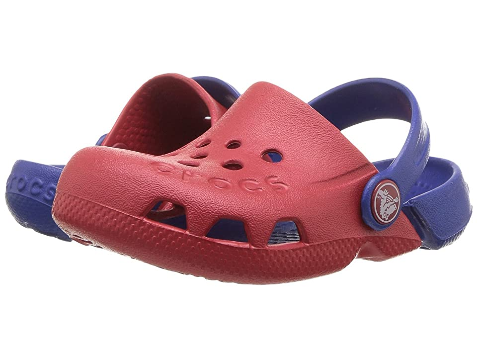 Crocs Kids Electro (Toddler/Little Kid) (Pepper/Cerulean Blue) Kids Shoes