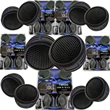 AUDIOBANK 5 Pairs 2000W Total Power Super High Frequency Mini Dome 1 Inch Car Tweeters 5X