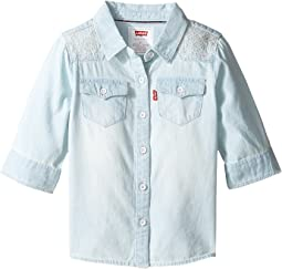 Levi's® Kids - 3/4 Sleeve Denim Top (Toddler)