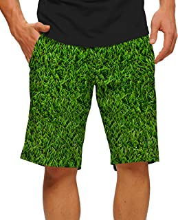 StretchTech Poly-Fun Bright John Daly Lost Ball StretchTech Men's Short Men's Short-Knee Length, 11