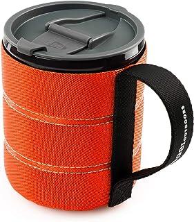 GSI Outdoors Men's FBA_1304.1974 Backpacker Mug, Orange, One Size