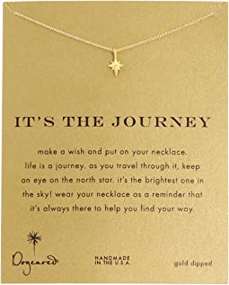 Dogeared - It's The Journey Necklace 16 inch
