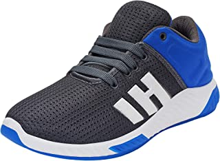 Earton Mens Stylish & Trendy Blue Synthetic Running Shoes (Earton-1078-6_$p)