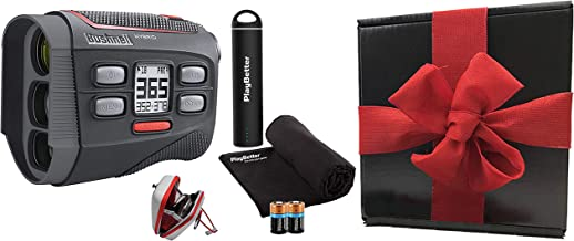 $329 » Bushnell Hybrid Golf Laser/GPS Rangefinder Gift Box Bundle | +PlayBetter Portable Charger, Microfiber Cleaning Towel & Ext...