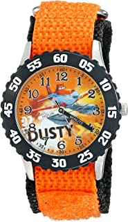 Disney Kids' W001940 Planes Analog Display Analog Quartz Orange Watch