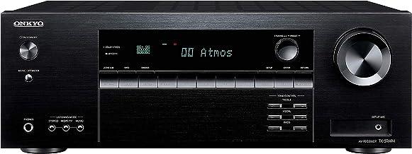 Onkyo TX-SR494 AV Receiver with 4K Ultra HD | Dolby Atmos | DTS: X | Hi-Res Audio (2019 Model)