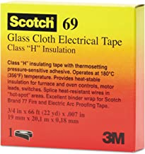 Scotch Glass Cloth Electrical Tapes 69-69 3/4x66 scotch glass cloth tape