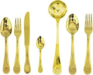 Mepra 51-Piece Diana Oro Serving Set