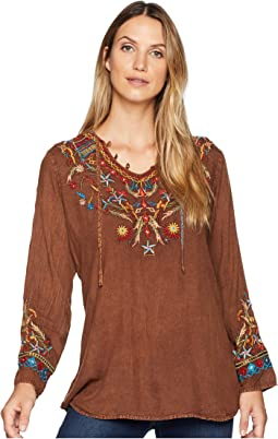 Bennington Boho Embroidered Fun Blouse