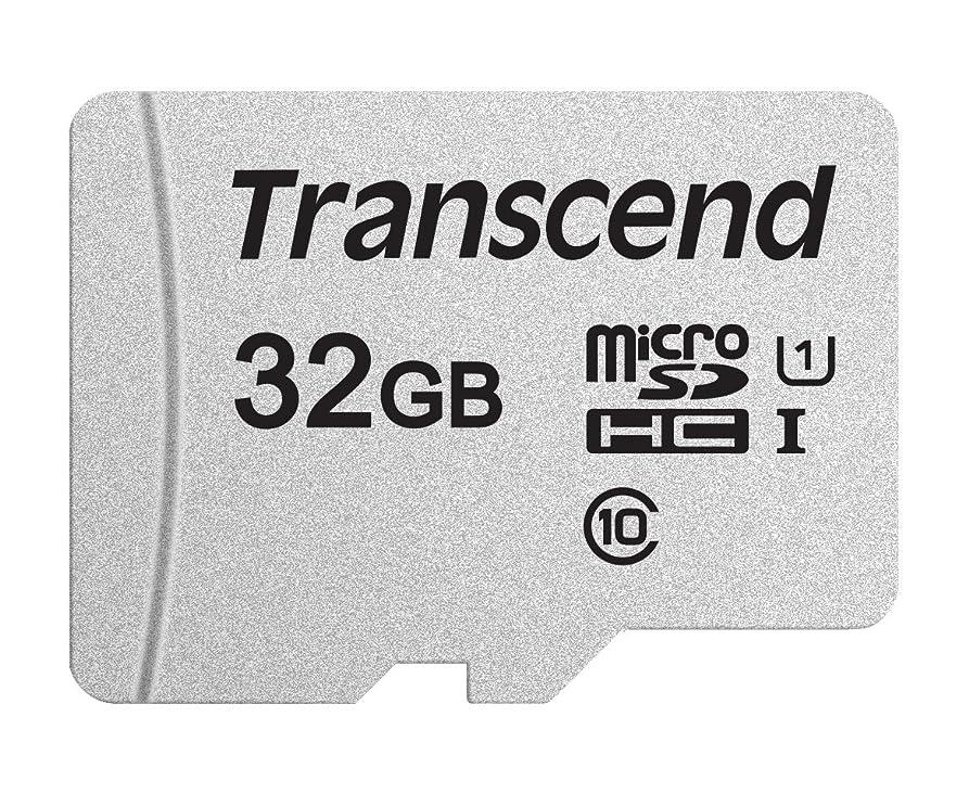 耕す監督する追加Transcend microSDHCカード 32GB 3D TLC UHS-I Class10 TS32GUSD300S