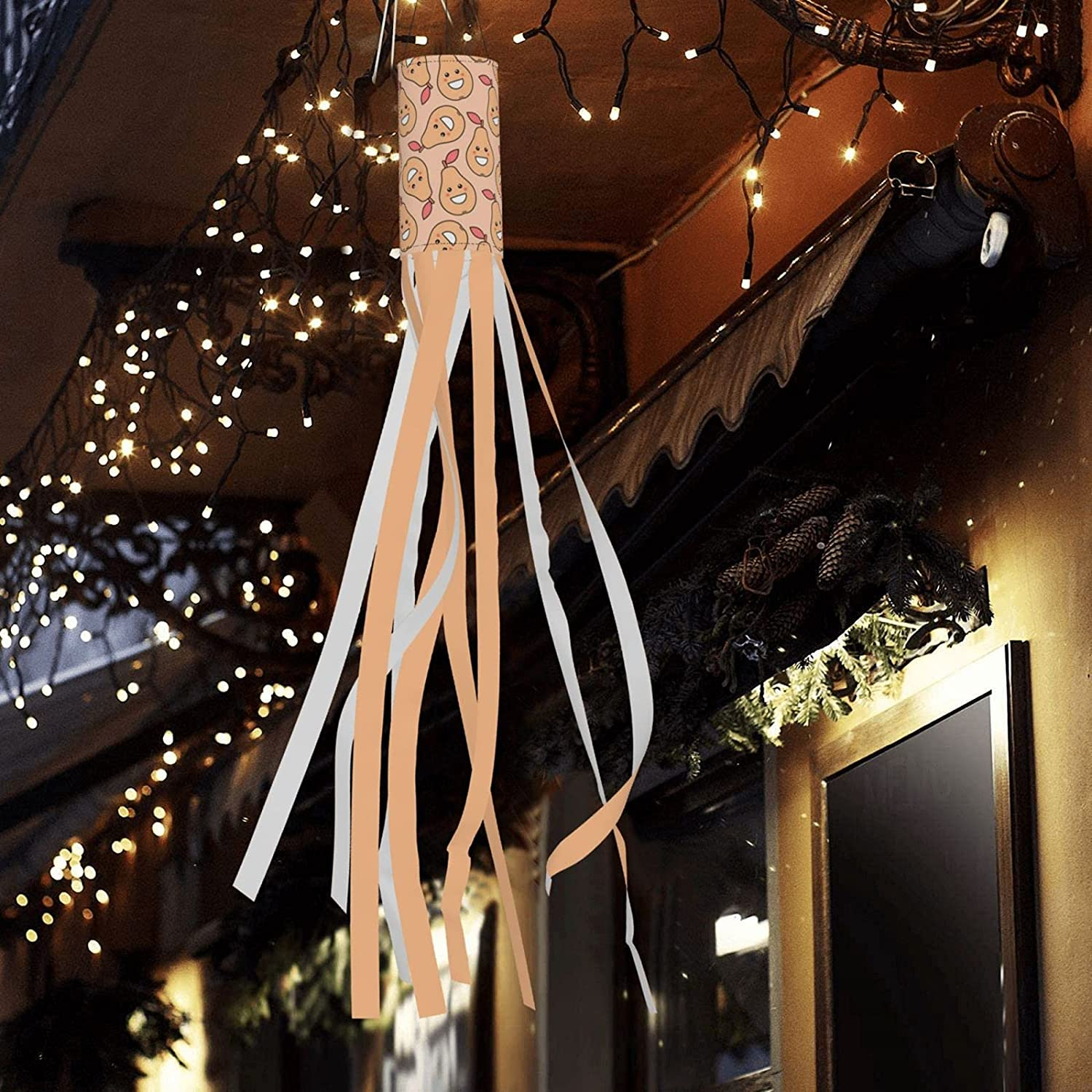 Qomrcy Fruit Expression Halloween Wind online shop Outdoor Bag Ha Ranking integrated 1st place Lights Led