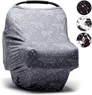 carseat canopy nfl prints