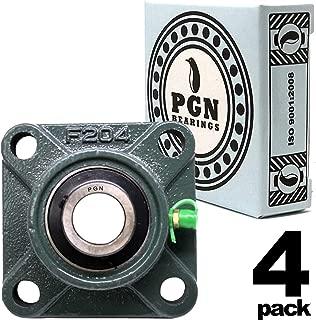 PGN - UCF204-12 Pillow Block Square Flange Mounted Bearing 3/4
