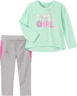 Under Armour Baby Girls Long Sleeve Tee and Legging Set