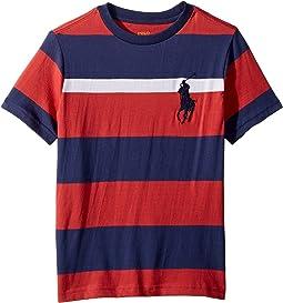 Striped Cotton Jersey T-Shirt (Little Kids/Big Kids)