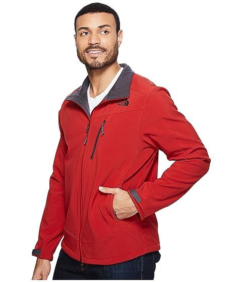 North Cardinal Red Apex Red Cardinal anterior Shellrock Face Chaqueta The Temporada 608wdq6