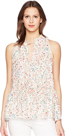 Kate Spade New York Mini Bloom Burnout Top
