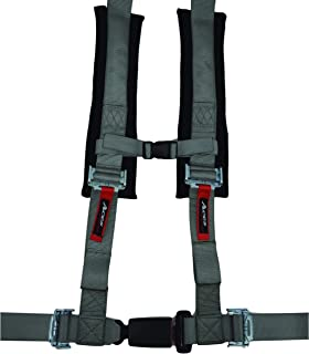 4 Point Harness with 2 Inch Padding (Ez Buckle Technology) (Silver)