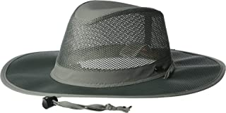 Men's Mesh Covered Safari with Chin Cord Willow MD