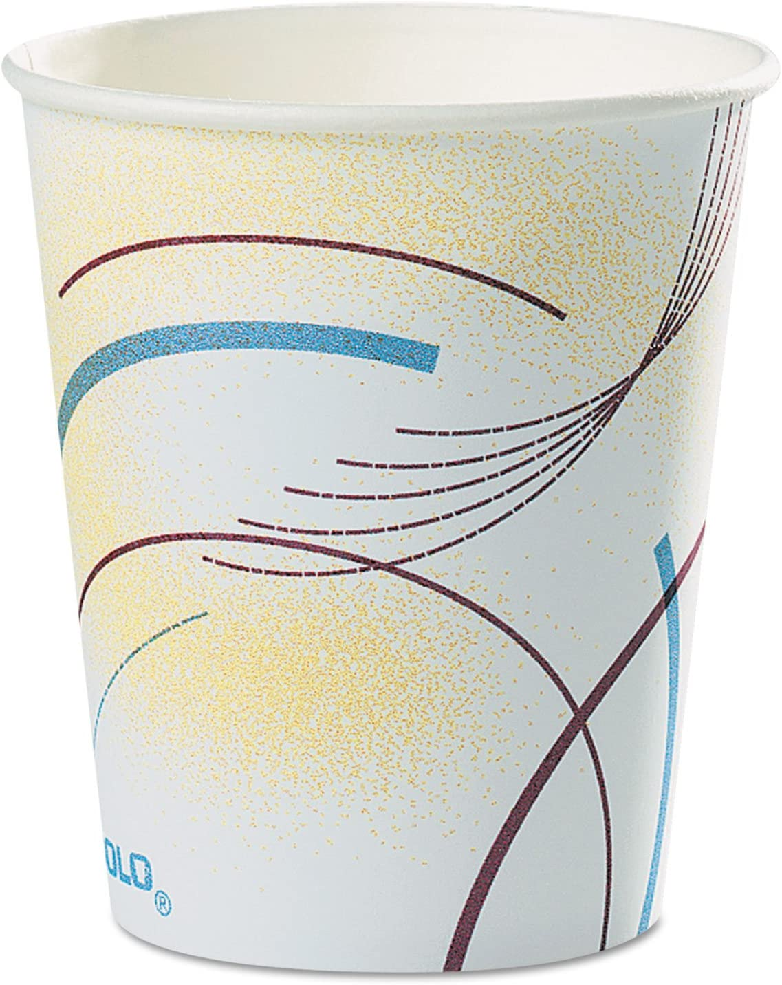 Paper Water Cups unisex 5 oz Meridian Cold Special Campaign Multicolored 100 Design