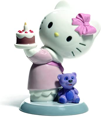 05e73a7bd Amazon.com: Nao by Lladro #1662, Hello Kitty Gets Married: Home ...