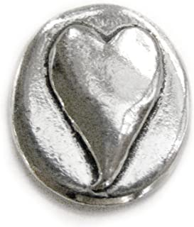 Basic Spirit Heart/Love Pocket Token (Coin) Handcrafted Pewter Lead-Free CN-11